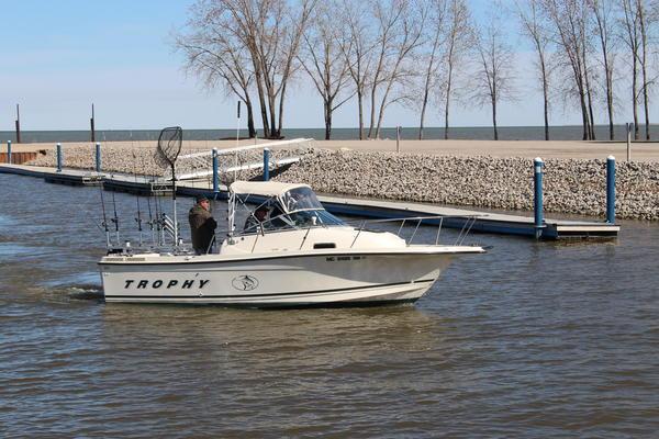 The marina in Linwood, Michigan.