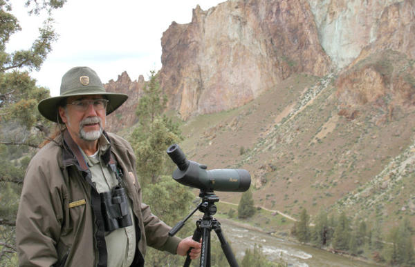 <p>Smith Park naturalist Dave Vick is concerned that expected crowds during the solar eclipse could impact wildlife like the park's resident bald eagles.</p>