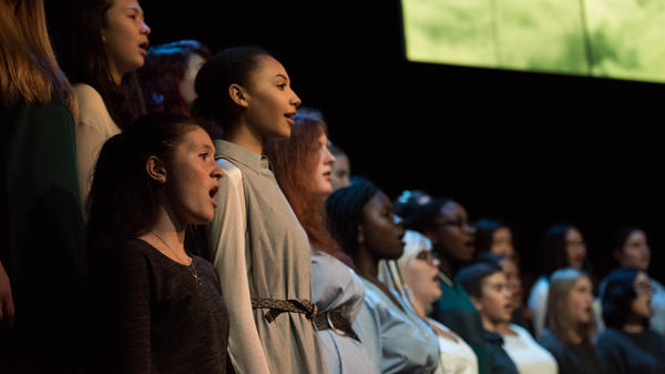 The Brooklyn Youth Chorus performs <em>Silent Voices</em>, a multi-composer work that addresses social concerns articulated by the young singers themselves.