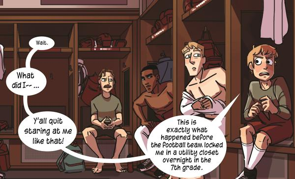 """Ukazu says she became fascinated by hockey and fraternity culture in college, and felt the need to """"infiltrate"""" it."""