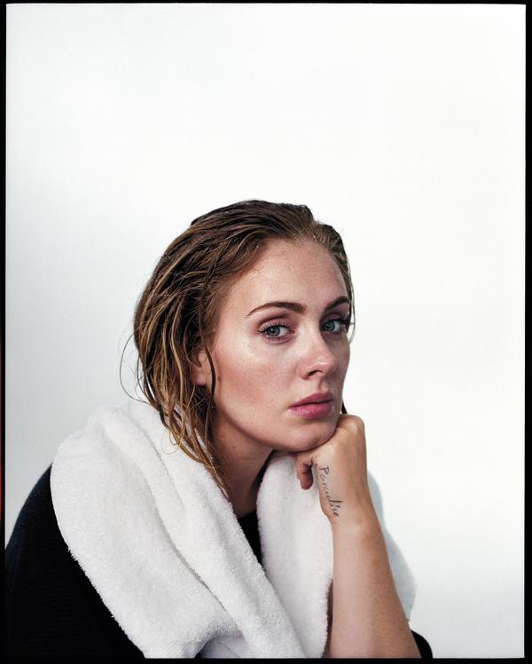 Adele, photographed for <em>Rolling Stone</em> in 2015.