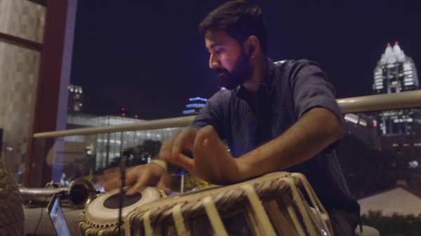 "Sarathy Korwar performs for NPR's ""Night Owl"" series."