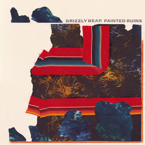 Album art for <em>Painted Ruins</em>, the fourth studio album from Grizzly Bear.