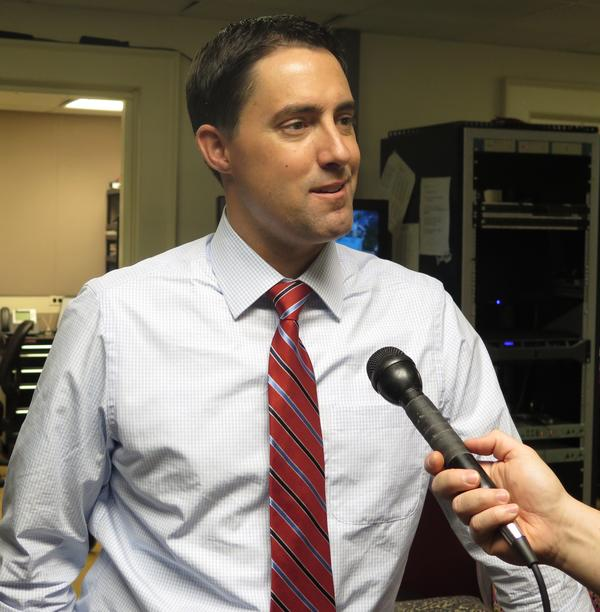 Sen. Frank LaRose (R-Hudson) talks about officially joining the race for Secretary of State in 2018.