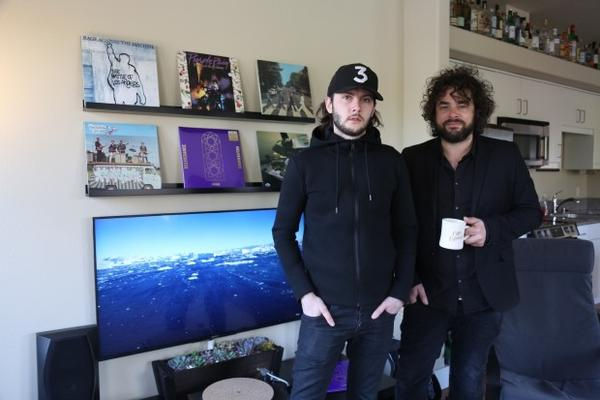 <p>David Staley and Gabriel Wilson are the duo behind RMA, an independent Vancouver-based record label that's trying to release Prince's latest album.</p>