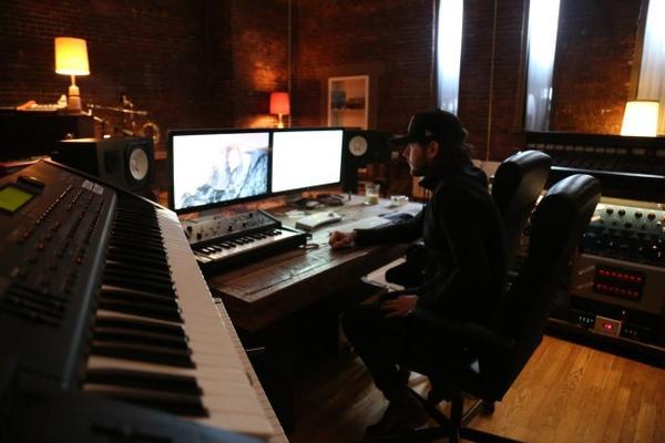 <p>David Staley in RMA's studio space, Feng Sway.</p>