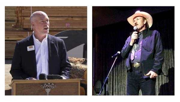 Greg Gianforte (L) and Rob Quist (R) are running for Congress in a special election to fill Ryan Zinke's seat.