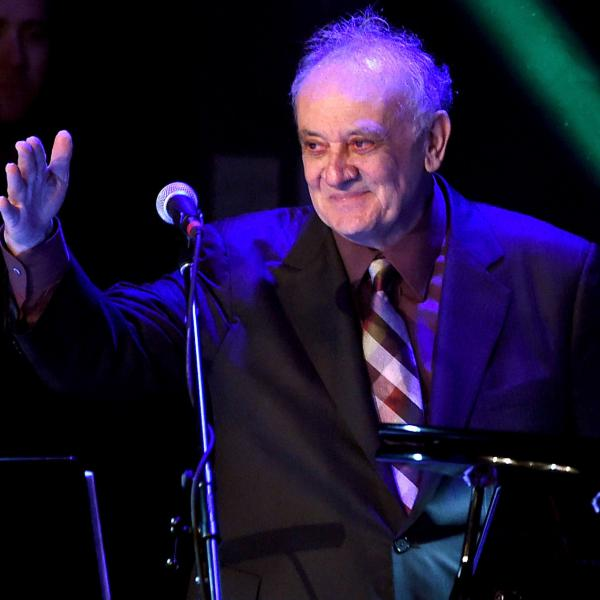 "Angelo Badalamenti appears at ""The Music Of David Lynch"" in 2015 in Los Angeles. Badalamenti's music has become intertwined with Lynch's work."