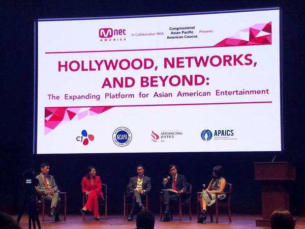 Actors and industry experts sat down for a panel discussion on Asian-Americans in entertainment on May 17 at the U.S. Capitol Visitor Center.