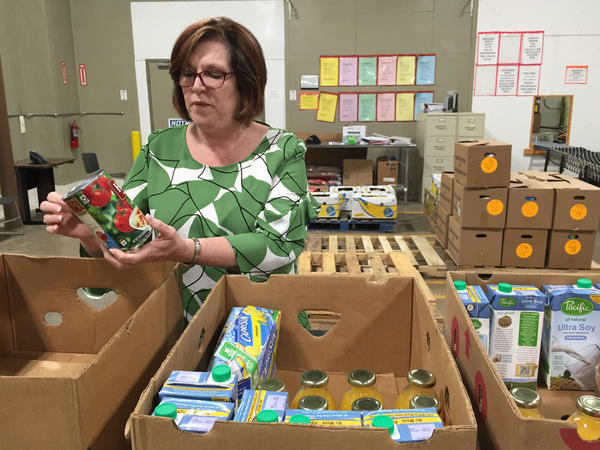 Pamela Irvine, president and CEO of the Feeding America Southwest Virginia food bank, says it's increasingly difficult to get supplies to feed the needy. Manufacturers have become much more efficient at controlling their inventories, so they have less surplus to donate.