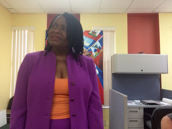 Marleine Bastien directs FANM or Haitian Women of Miami.