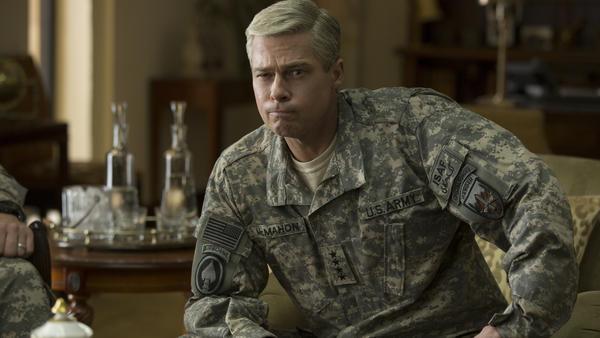 Brad Pitt in <em>War Machine.</em>