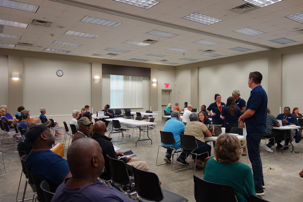 Restore Louisiana is holding six outreach events across the state to assist residents with filling out the Homeowner Survey.  On Tuesday, May 23, residents gathered at the Greenwell Springs Library in Baton Rouge.