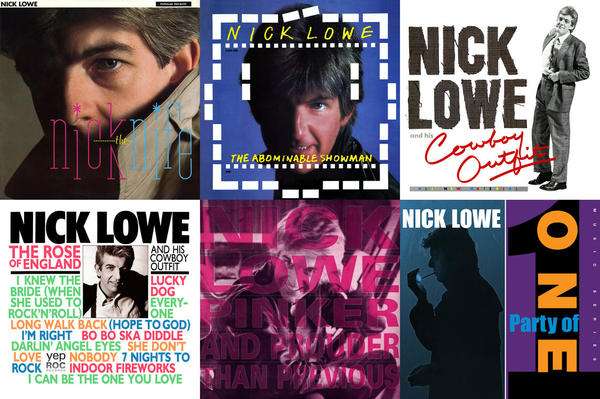 <em>Nick The Knife, The Abominable Snowman, Nick Lowe And His Cowboy Outfit, The Rose Of England, Pinker And Prouder Than Previous</em>, and<em> Party Of One</em> will all be reissued this year.