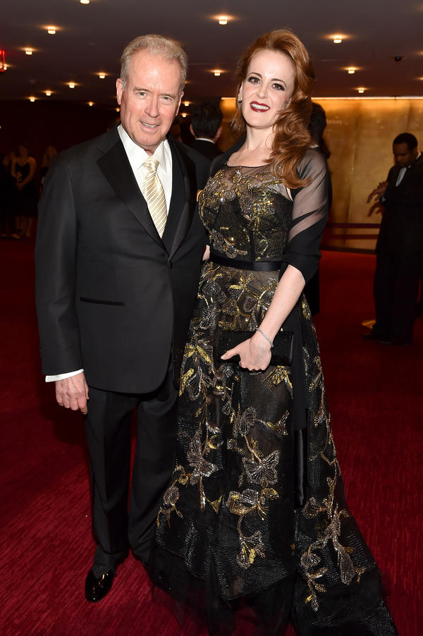 Robert Mercer and his daughter Rebekah Mercer attend the 2017 TIME 100 Gala on April 25 in New York City.