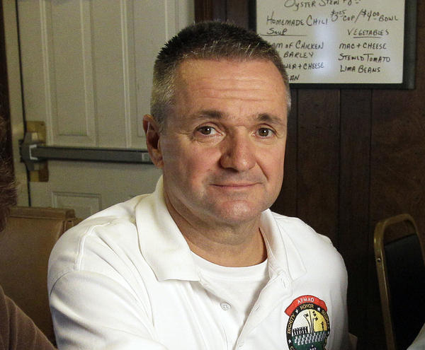 William Zwicharowski, the Dover mortuary branch chief at the time of the incident, has been reassigned, according to <em>The Washington Post</em>. He's shown in 2011.