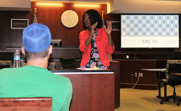 To help parents learn more about the Kansas foster care system, Olathe attorney Shanelle Dupree offers a class each month in Johnson County. Most parents are referred by the courts as part of their plan to regain custody of their children.