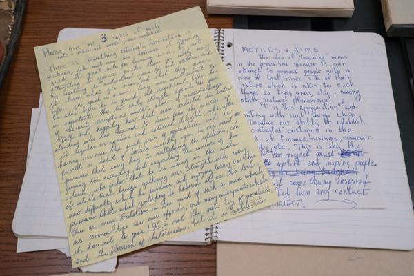 "Pages from Rollins' notebooks: ""Motives + Arms"" and a meditation on quickness."