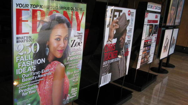 Circulation figures for Johnson Publishing's flagship <em>Ebony</em> and <em>Jet</em> magazines are up substantially in recent months.