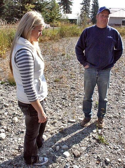 Chantell and Mike Sackett say the EPA violated their right to due process when it said they were building a house on a wetland. The Supreme Court will hear the case on Monday.