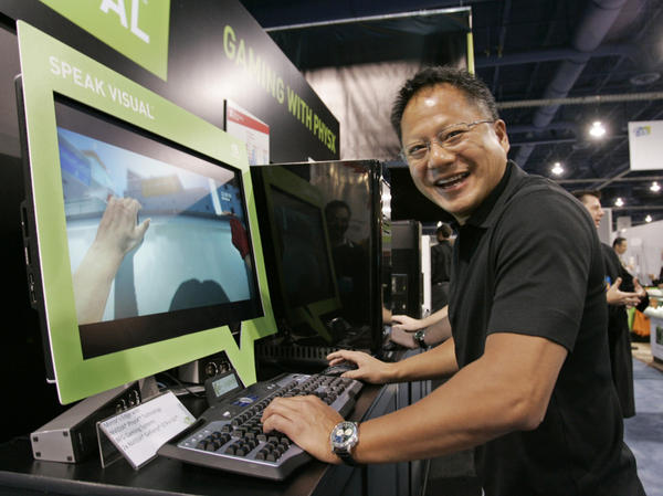 Nvidia Chief Executive Officer Jen-Hsun Huang co-founded the graphics chip maker in 1993.