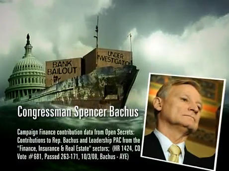 The superPAC Campaign for Primary Accountability is taking aim at Alabama Republican Rep. Spencer Bachus and other congressional incumbents.