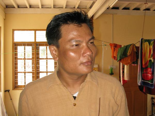 "Nay Myo Zin is a former captain in the Myanmar army who now runs a charity and is a political activist. He says he quit the army because soldiers were ""always made to do bad things,"" and thus preventing him from properly practicing his Buddhist religion."