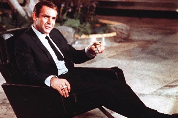 Sean Connery, seen here in Tokyo filming 1966's <em>You Only Live Twice</em>, was the first actor to play James Bond in 1962's <em>Dr. No.</em>
