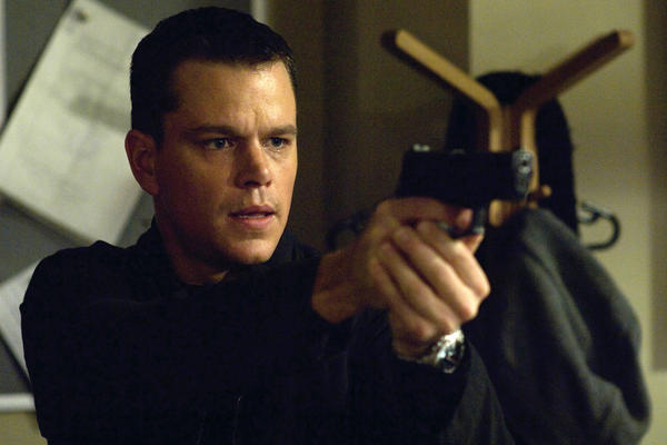 Matt Damon played Jason Bourne three times, starting in 2002 with <em>The Bourne Identity</em> and ending in 2007 with <em>The Bourne Ultimatum</em>.