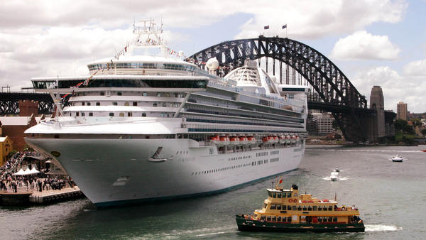 Princess Cruise Lines, which operates the mammoth cruise ship Star Princess (above), is being sued after allegedly ignoring a Panamanian fishing boat in distress. Two men died when the boat sank; one man survived.