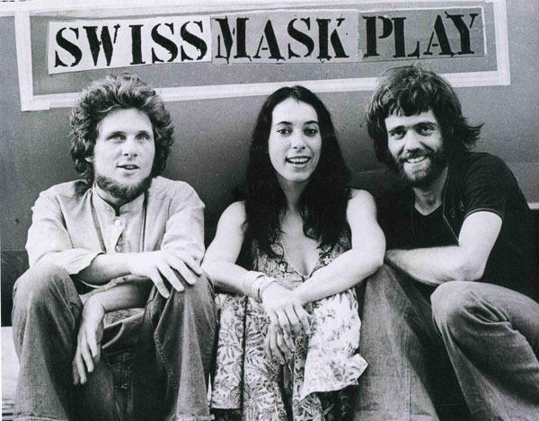 Mummenschanz's original founders (from left) Andres Bossard, Floriana Frassetto and Bernie Schurch.