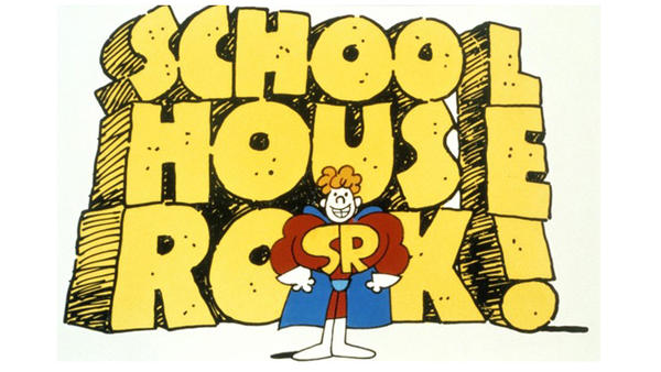 <em>Schoolhouse Rock!</em>, the series of educational shorts that ran on Saturday mornings in the 1970s and '80s, is 40 this year.