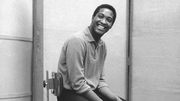 Sam Cooke in the studio in the early 1960s.