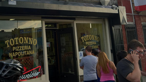 Totonno's, one of New York's oldest pizzerias, suffered severe damage from flooding caused by Hurricane Sandy.
