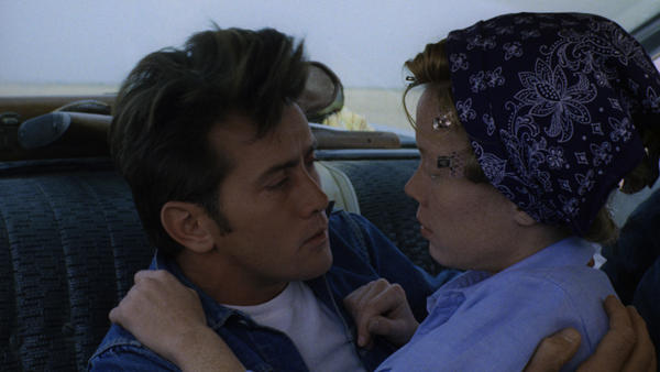 When Kit (Martin Sheen) meets young Holly (Sissy Spacek), it's a match made in cinematic heaven. The pairing of the young couple in <em>Badlands</em> was the beginning of prolific careers for both actors.