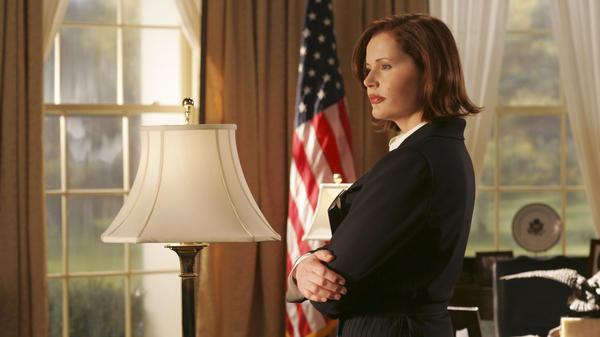 Geena Davis played the president in the 2005 ABC series <em>Commander in Chief</em>. Now, she works on issues involving women in media.