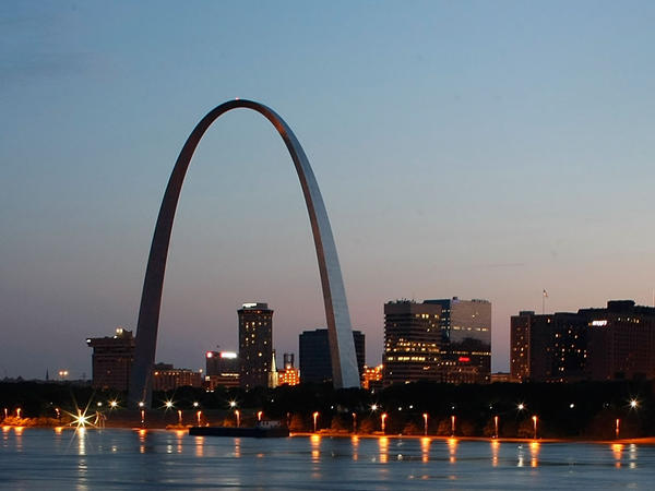 "The Gateway Arch ""is really a monument to the 20th century and to the height of American power,"" says historian Tracy Campbell."