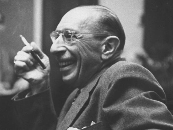 "Don't be caught ""Stravinsky deficient"" while out with your music-loving friends."