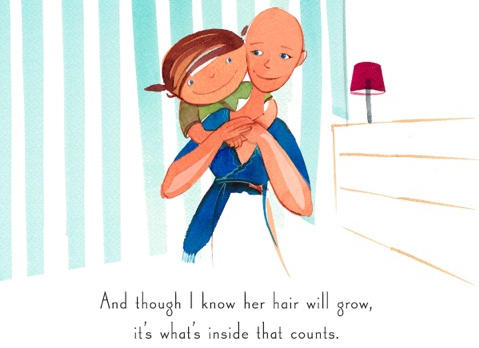 Sue Glader wrote <em>Nowhere Hair </em>after finding many children's books about cancer that were too depressing or scary.