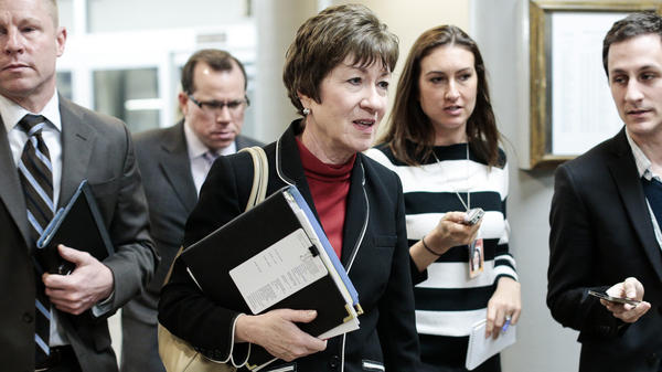 Sen. Susan Collins, R-Maine, is among the lawmakers who say they were never briefed about the government's surveillance programs.