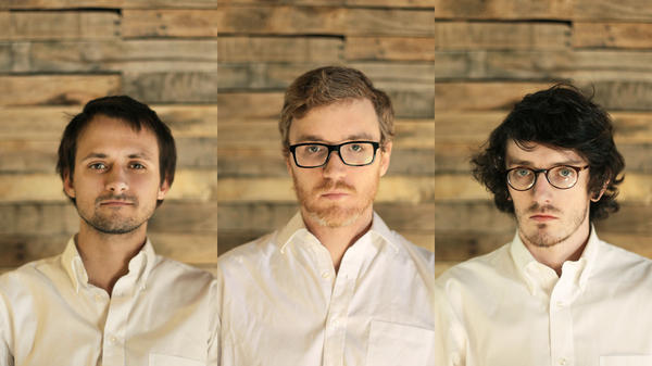 Left to right: Daniel Machalak, James Philips and Stuart Robinson of Bombadil.