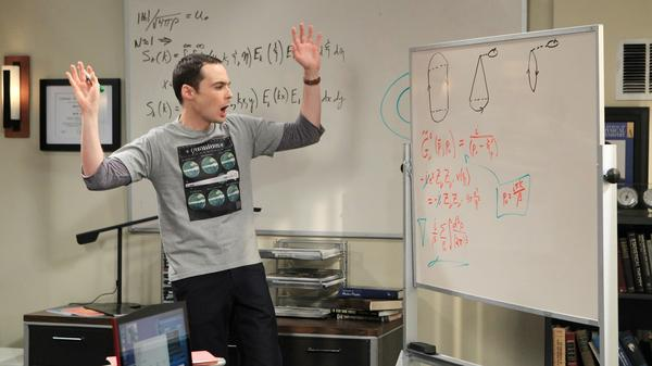 If the science that's so exciting to Sheldon (Jim Parsons) is right, it's because of David Saltzberg.