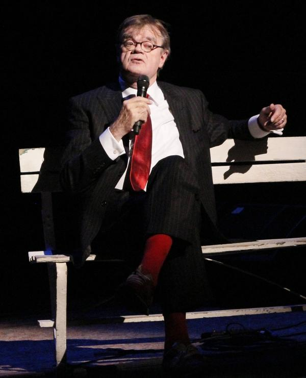 Garrison Keillor has been the host of <em>A Prairie Home Companion</em> since it began nearly four decades ago. He was inducted into the Radio Hall of Fame in 1994.