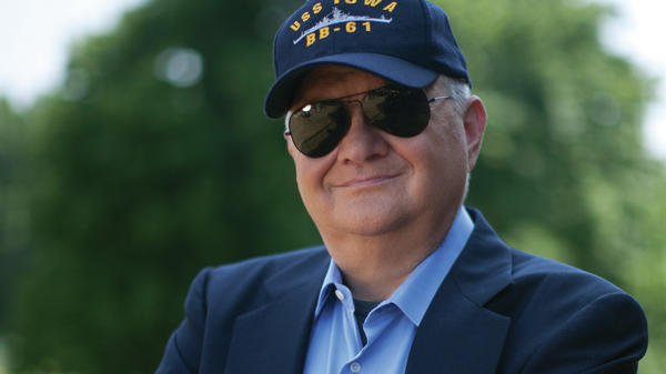 Tom Clancy, seen here in 2010, was an insurance agent before publishing <em>The Hunt For Red October</em> in 1984.