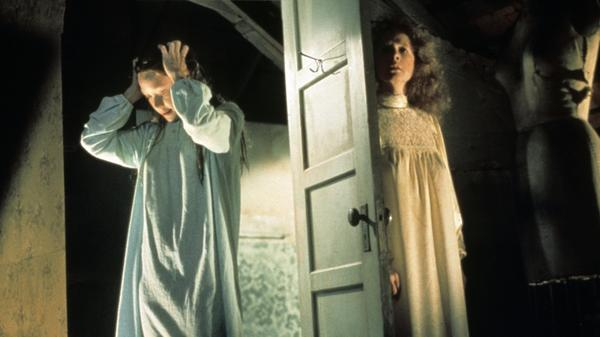 In Stephen King's novel and the film adaptations, Carrie (played by Sissy Spacek, left, in the 1976 version) is the one with the supernatural powers, but for NPR's Elizabeth Blair, Carrie's mother Margaret (Piper Laurie) was the truly scary character.