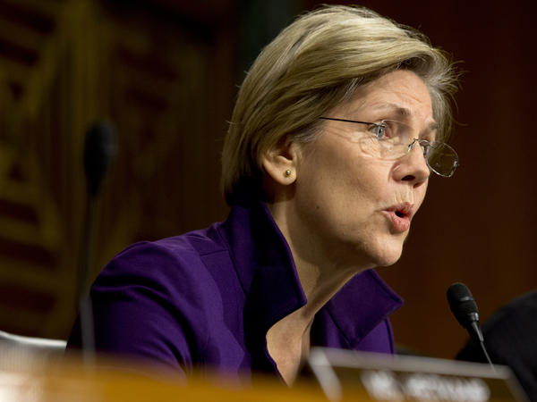 Sen. Elizabeth Warren, a Massachusetts Democrat, is leading a push to increase Social Security benefits. But her whole party is not in agreement on the issue.