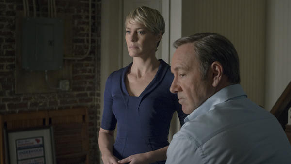 Robin Wright and Kevin Spacey play Claire and Francis Underwood in Netflix's <em>House of Cards. </em>When the second season is released on Friday, audiences can expect to see more ruthless behavior from these power-hungry characters — but are they antiheroes, or plain old villains?