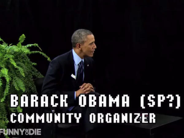 The president joined host Zach Galifianakis on the Funny or Die mock talk show,<em> Between Two Ferns</em> this week. Obama was there to promote the Affordable Care Act.