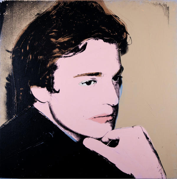 Andy Warhol was generous when he painted this glamorous portrait of artist Jamie Wyeth in 1976.
