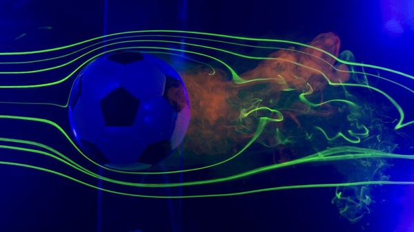 From an aerodynamic perspective, a traditional soccer ball is just as good as the new design.